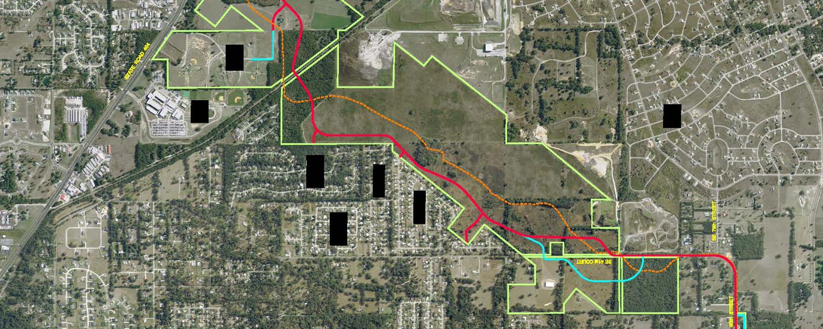 Santos Trail Corridor Study | DRMP, Inc.