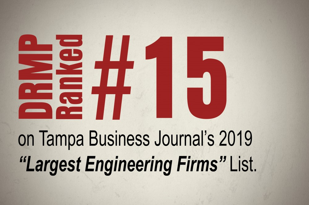 DRMP Tampa Office Moves Up in Tampa Bay's Largest ...