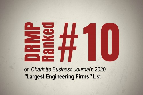 DRMP Charlotte Office Ranked Among Top Engineering Firms