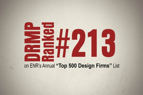 DRMP Climbs on ENR's Top 500 Design Firms List