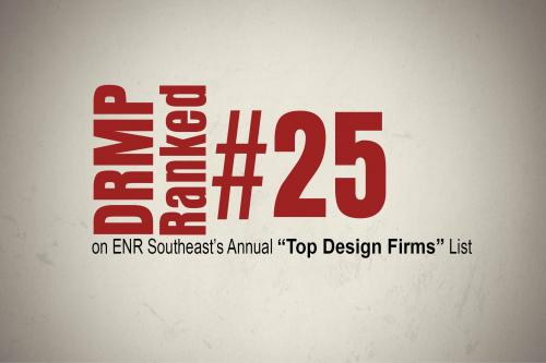 DRMP Ranked on ENR Southeast's Top Design Firms List  - Copy