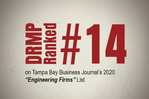 DRMP Tampa Office Ranked Among Top Engineering Firms